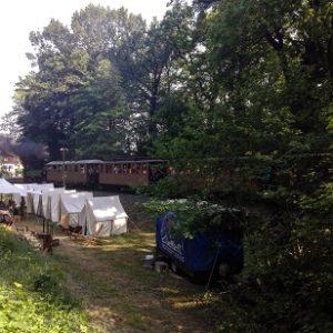 Karl May Festtage Radebeul Bahnüberfall
