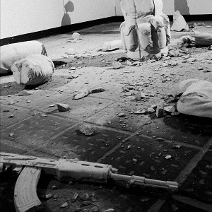 """""""The architecture of violence / Suicide Bomber"""" Robert Kunec"""