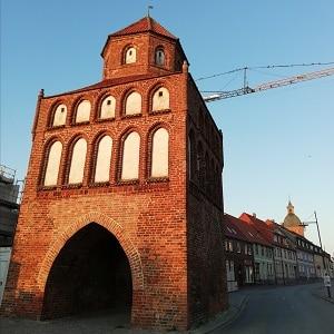 Rostocker Tor in Ribnitz